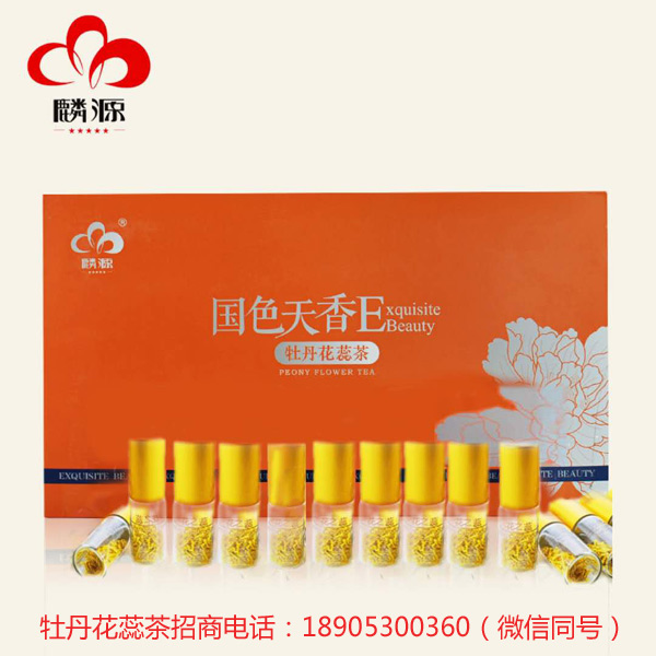 牡丹花蕊茶功效与作用具有保健结果 微量元素可以作证