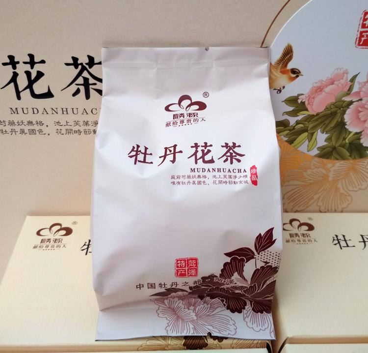 麟源牡丹花瓣茶4罐礼盒装建议零售